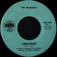 The Belmonts - Ann-Marie / Ac-cent-tchu-ate The Positive