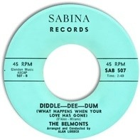 The Belmonts - Diddle-Dee-Dum (What Happens When Your Love Has Gone) / Farewell