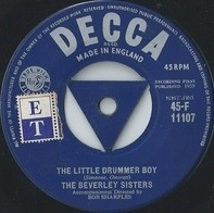 The Beverley Sisters - The Little Drummer Boy