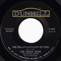 The Brass Ring Featuring Phil Bodner - The Dis-Advantages of You
