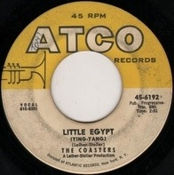 The Coasters - Little Egypt (Ying-Yang) / Keep On Rolling