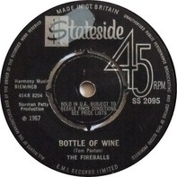 The Fireballs - Bottle Of Wine / Ain't That Rain
