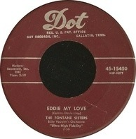The Fontane Sisters - Eddie My Love