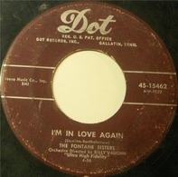 The Fontane Sisters - I'm In Love Again / You Always Hurt The One You Love