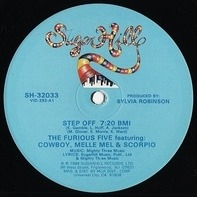 The Furious Five Featuring Cowboy , Melle Mel & Scorpio - Step Off (Remix)