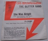 The Glitter Band - She Was Alright / It's Alright