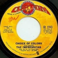 The Impressions - Choice Of Colors