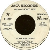 The Lost Gonzo Band - People Will Dance