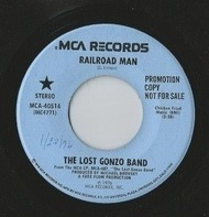 The Lost Gonzo Band - Railroad Man / Take Advantage Of Your Chances
