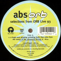 The Orb - Abs Orb - Selections From Orb Live 93