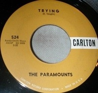 The Paramounts - Girl Friend / Trying