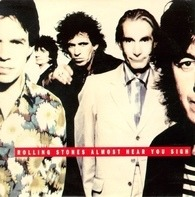 The Rolling Stones - Almost Hear You Sigh / Break The Spell