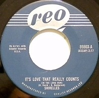 The Shirelles - It's Love That Really Counts / Stop The Music