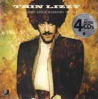 Thin Lizzy - Thin Lizzy. Vagabonds, Kings, Warriors, Angels (Buch + 4 cds)