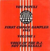 Those Guys, London a.o. - Vox Populi: First Choice Sampler 1993 Volume 1