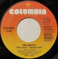 Tim Mensy - You Can't Throw Dirt