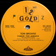Tom Browne - Funkin' For Jamaica / Rockin' Radio