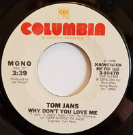 Tom Jans - Why Don't You Love Me