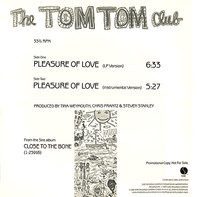 Tom Tom Club - Pleasure Of Love