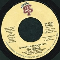 Tom Browne - Funkin' For Jamaica (N.Y.)