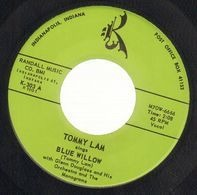 Tommy Lam With Glenn Douglass And His Orchestra And The Monograms - Blue Willow / Teenagers Dream