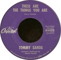 Tommy Sands - These Are The Things You Are / The Old Oaken Bucket