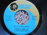 Tompall Glaser & The Glaser Brothers - This Eve Of Parting / Wicked California
