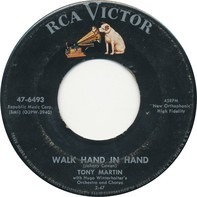 Tony Martin With Hugo Winterhalter's Orchestra And Chorus - Walk Hand In Hand / Flamenco Love