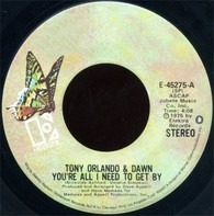Tony Orlando & Dawn - You're All I Need To Get By