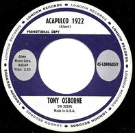 Tony Osborne - Acapulco 1922 / I Loved You