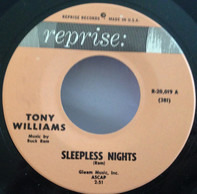 Tony Williams - Sleepless Nights