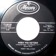 Tony Williams - When You Return / Let's Start All Over Again