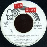 Tony Orlando And Dawn - Whos In The Strawberry Patch With Sally / Ukulele Man