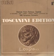 Toscanini, NBC Symph Orch - Dances from Famous Operas