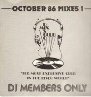 V.A. Disco Mix Club - October 86 - Mixes 1