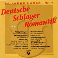 Roland Kaiser / Marianne Rosenberg a.o. - 25 Jahre Hansa - Nr.4 - Deutsche Schlager Romantik Folge 1