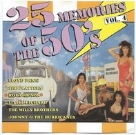 Lloyd Price,The Diamonds,Sam Cooke,Roy Orbison, u.a - 25 Memories Of The 50's - Vol. 4