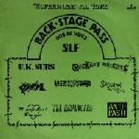 Uk Subs, The Exploited a.o. - Back-Stage Pass