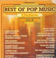 Chris Montez, Billy Swan, Santana,.. - Best Of Pop Music: Oldies Vol. III