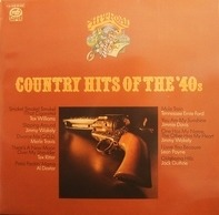 Tex Williams, Merle Travis, Jimmie Davis,.. - Country Hits Of The `40s