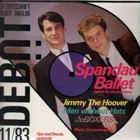 Spandau Ballet / Jimmy The Hoover / Men without Hats / a.o. - Zeitschrift Ausgabe 1 (11/83)