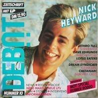 Dave Edmunds, Shriekback, Jethro Tull, Alison Moyet - Debüt LP / Zeitschrift Ausgabe 10