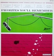Robert Goulet, Ray Conniff, Percy Faith a.o. - Favorites You'll Remember, Vol II
