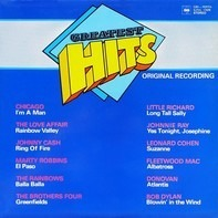 Chicago, The Love Affair, Johnny Cash a.o. - Greatest Hits