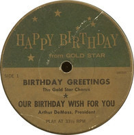 Various - Happy Birthday From Gold Star