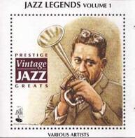 Erroll Garner, Dizzy Gillespie, Charlie Parker, a.o. - Jazz Legends Volume 1