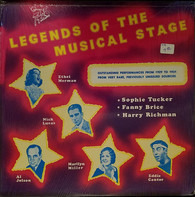 Harry Richman / Al Jolson a.o. - Legends Of The Musical Stage
