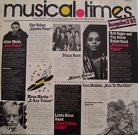 John Watts / The Tubes / Diana Ross a.o. - Musical Times • Ausgabe 2'82