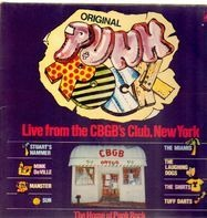 Tuff Darts, The Shirts a.o. - Original Punk Rock Live From The CBGB's Club New York