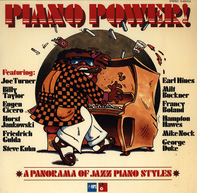 Joe Turner, Billy Taylor, Eugen Cicero a.o. - Piano Power! (A Panorama Of Jazz Piano Styles)